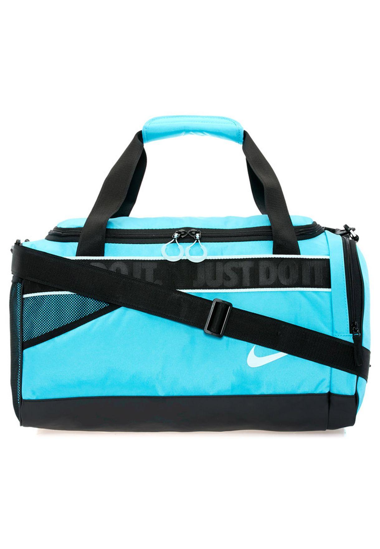 80beea0d02f Shop Nike blue Medium Varsity Duffel Bag NEQP-BA4732-413 for Women ...