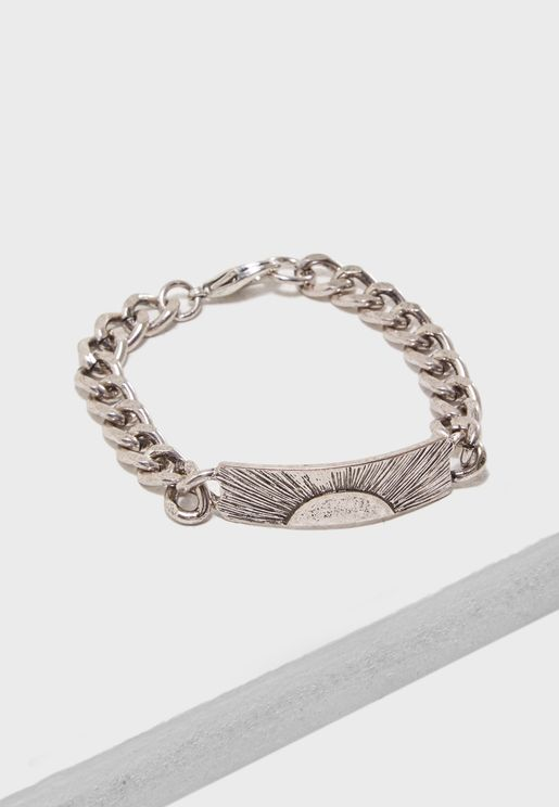Burnished Silver Finish Bracelet