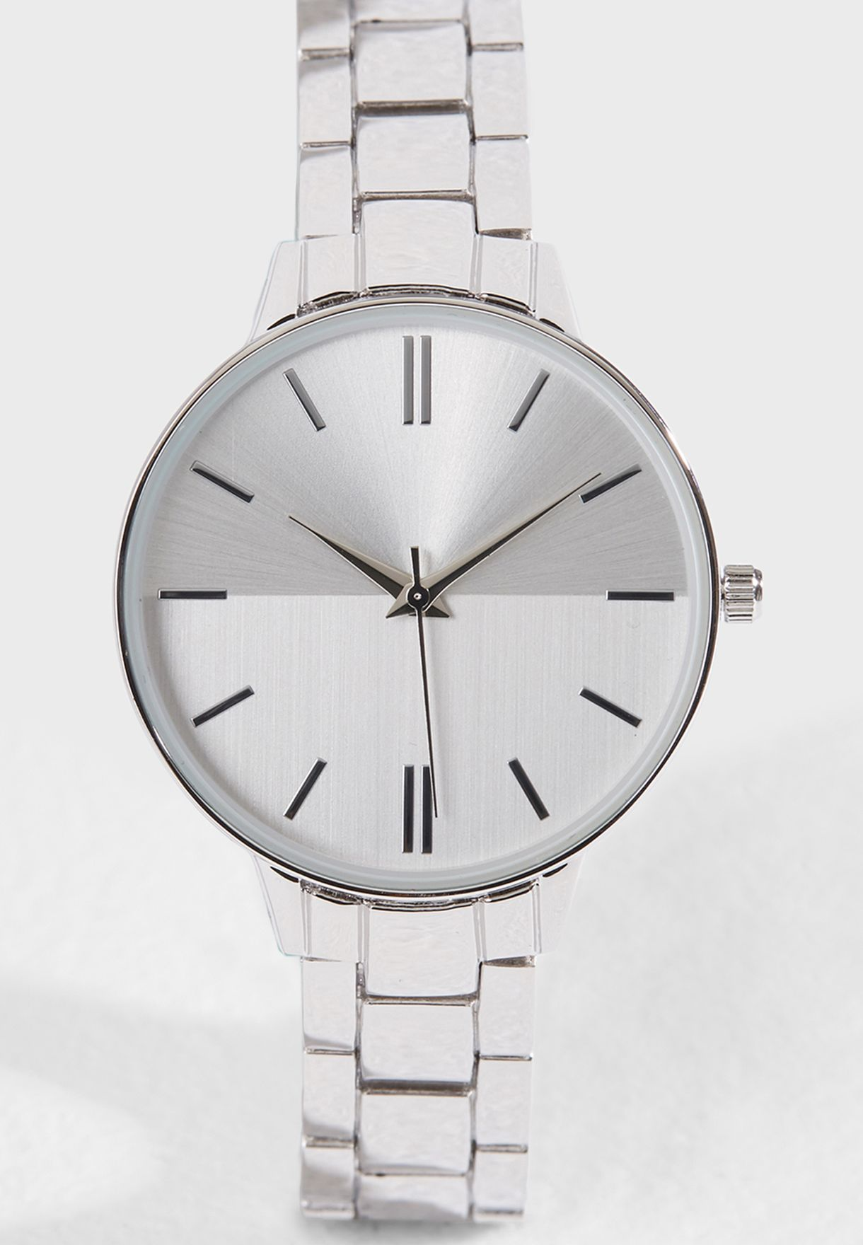 Split Dial Clean Sports Watch