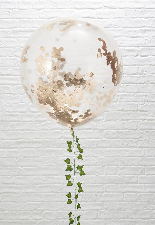 "3x Confetti Balloon 36"""