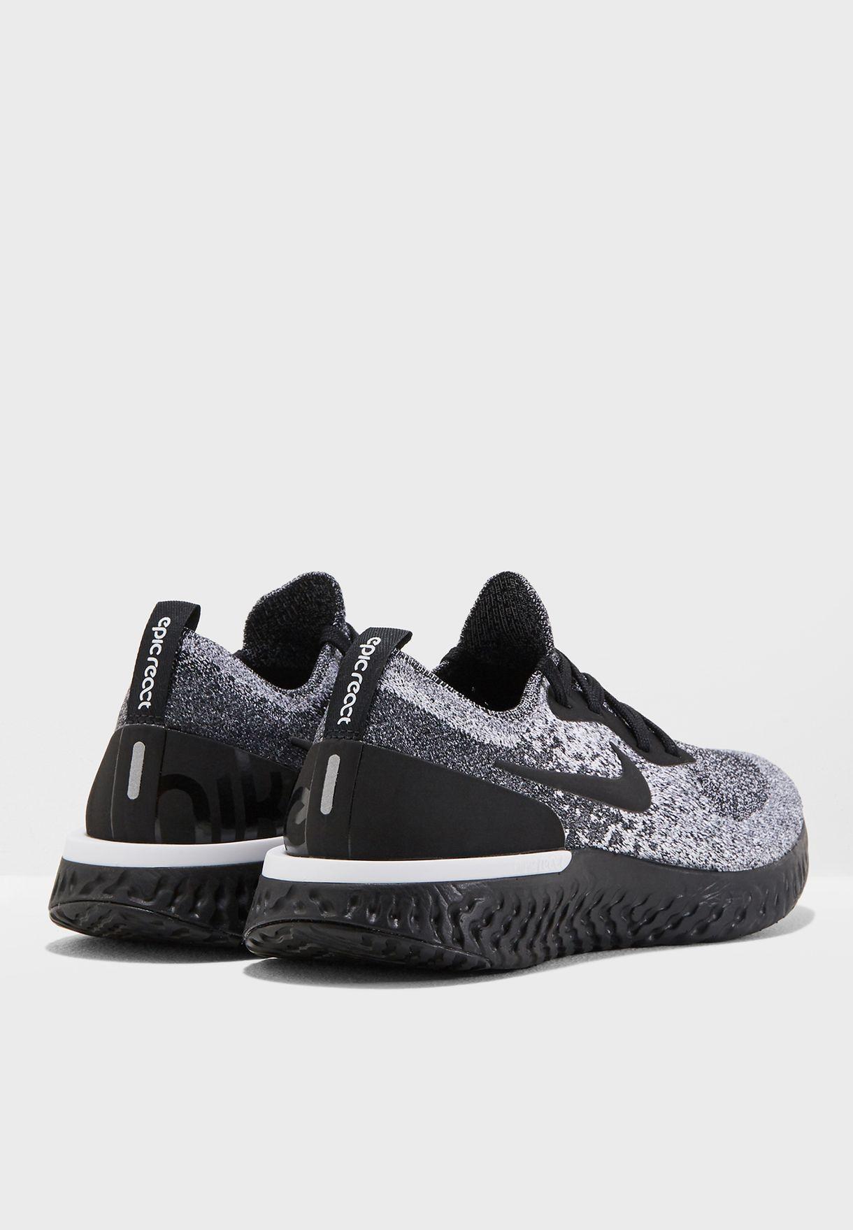 fc6d05667e69 Shop Nike black Epic React Flyknit AQ0070-011 for Women in UAE ...