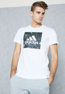 Bos Marble Logo T-Shirt