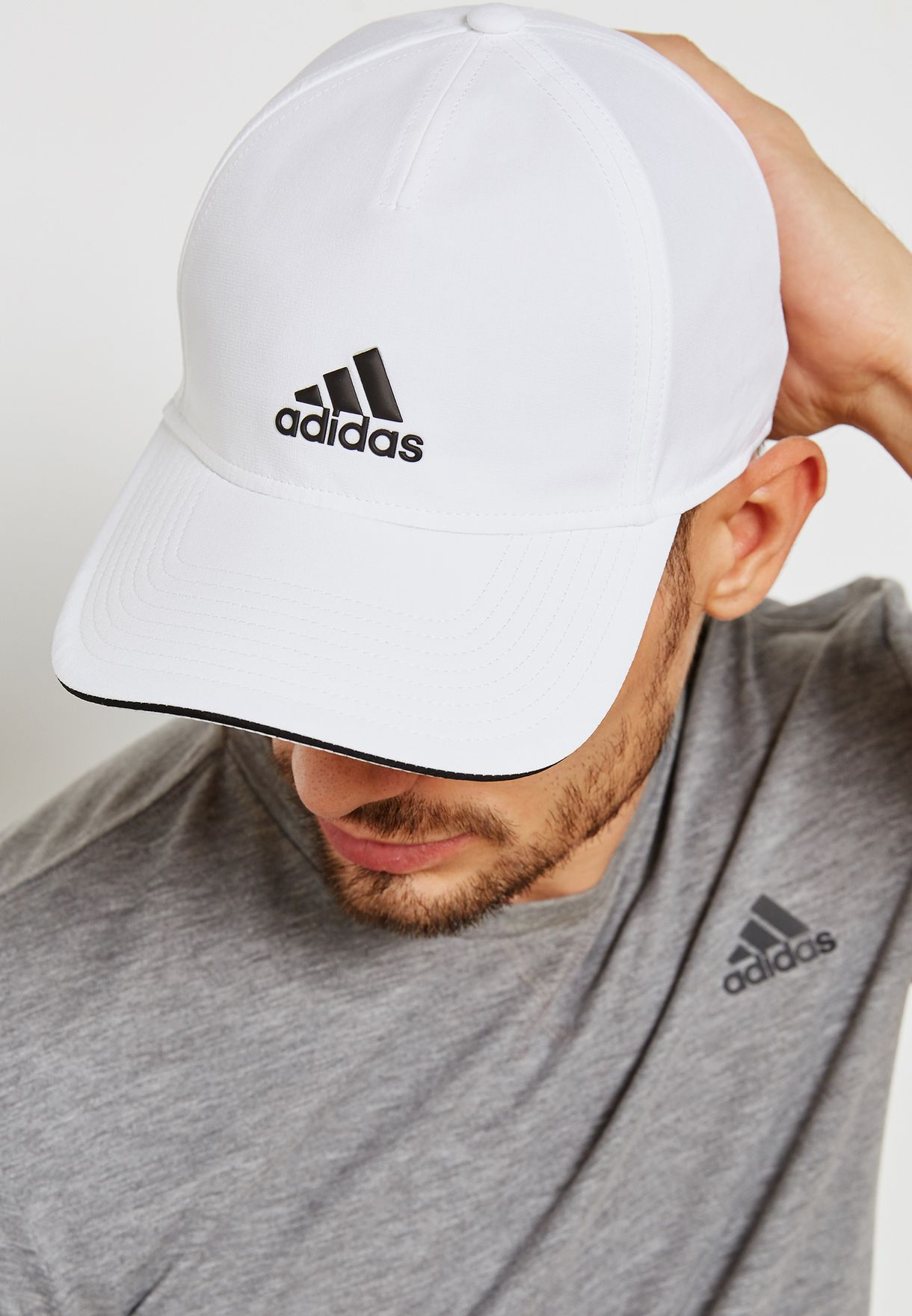 Shop adidas white C40 Climalite Cap CG1780 for Men in UAE - AD476AC84WCT c43e9348482