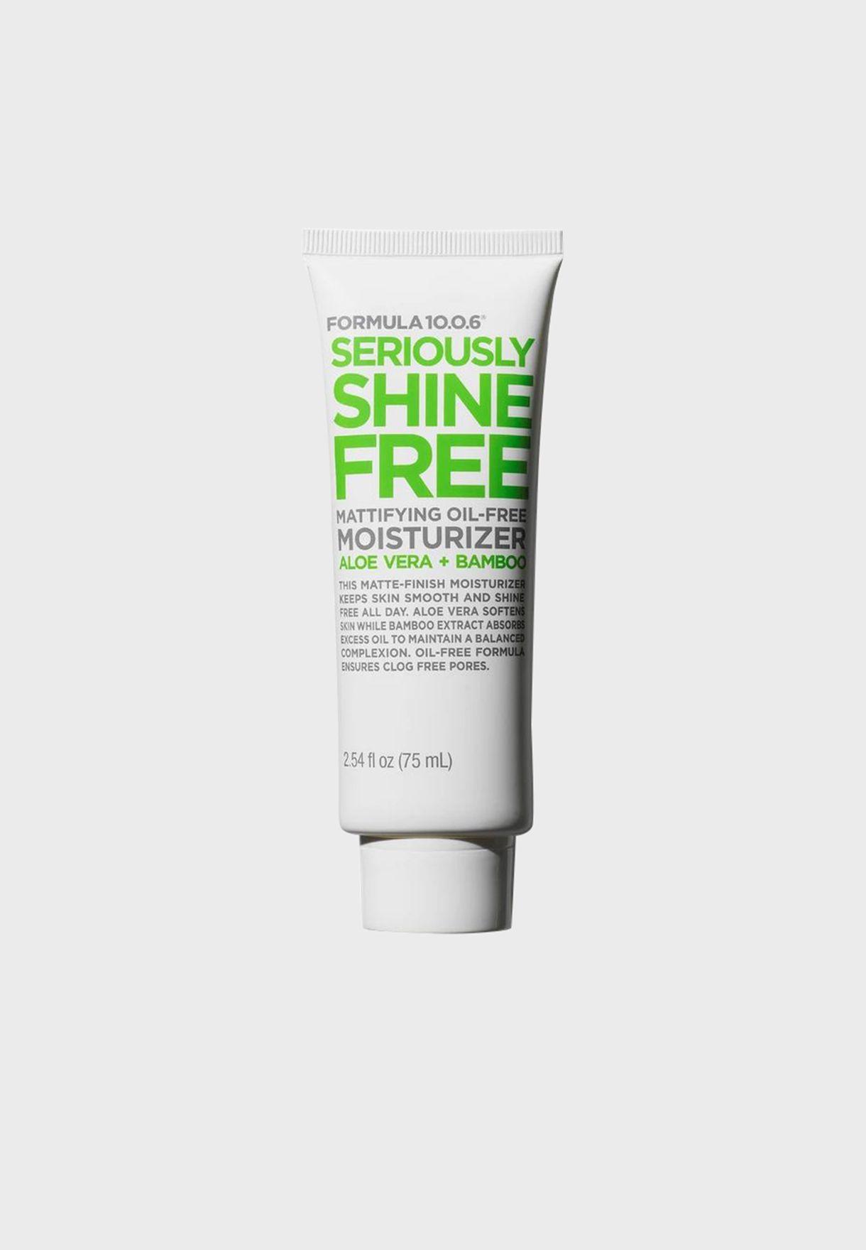 Seriously Shine Free Moisturiser