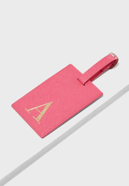 A Letter Luggage Tag