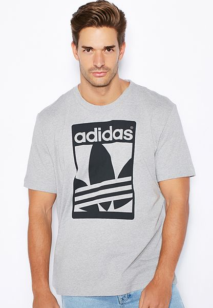 Shop adidas Originals black Street Graphic T-Shirt AB8047 for Men in UAE -  AD478AT84GYD