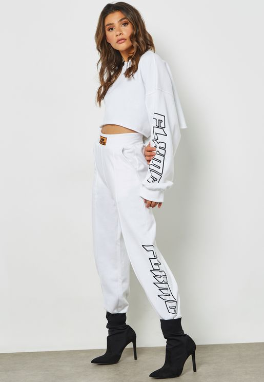 Fanny Lyckman Embroidered Joggers
