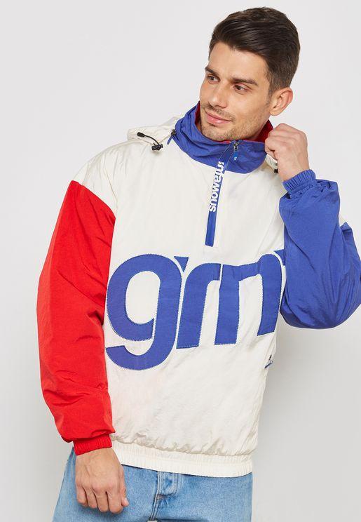 Flamboyant Pullover Jacket