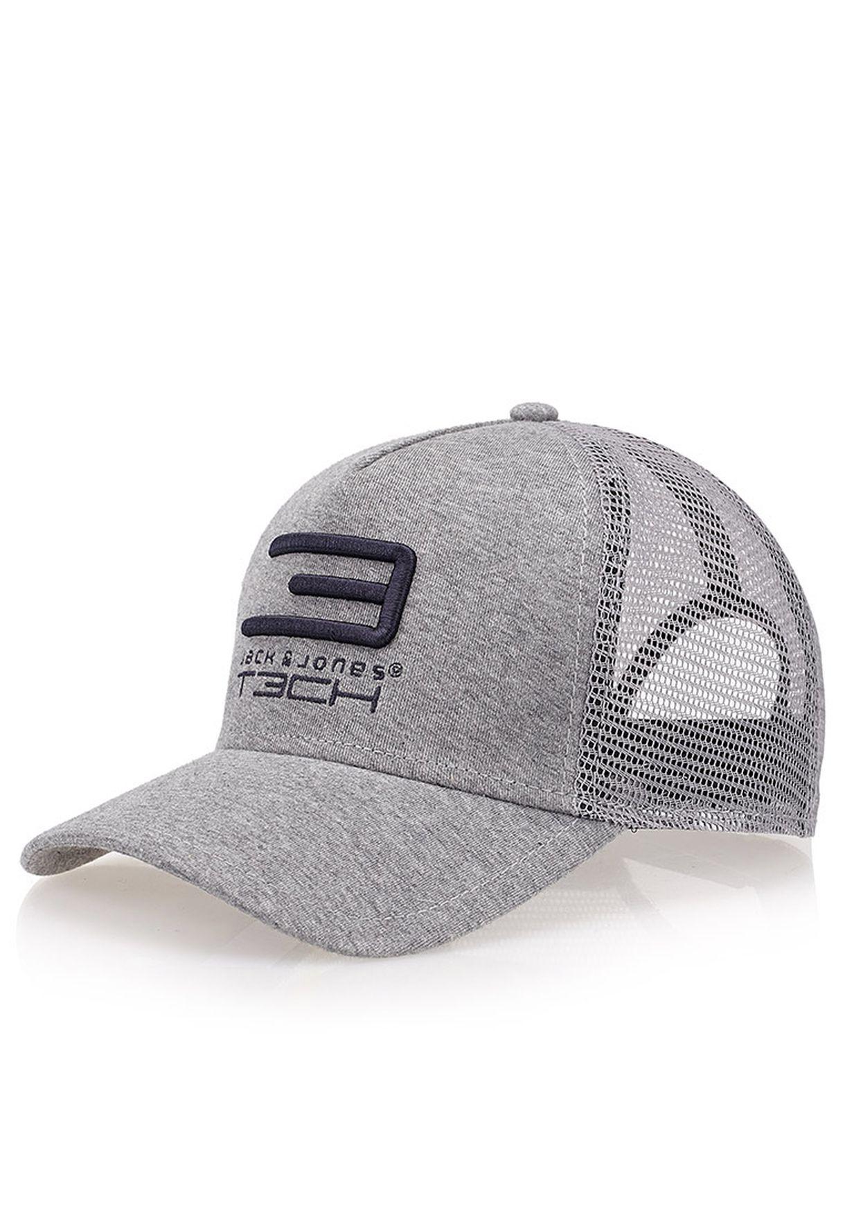 Shop Jack Jones grey Grade Baseball Cap for Men in Saudi - JA872AC84POH b0df414f0c2