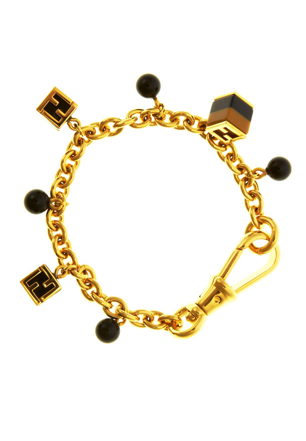 e2d8c9cce تسوق Bracelet ماركة فندي لون ذهبي في السعودية - FE270AC84RGP