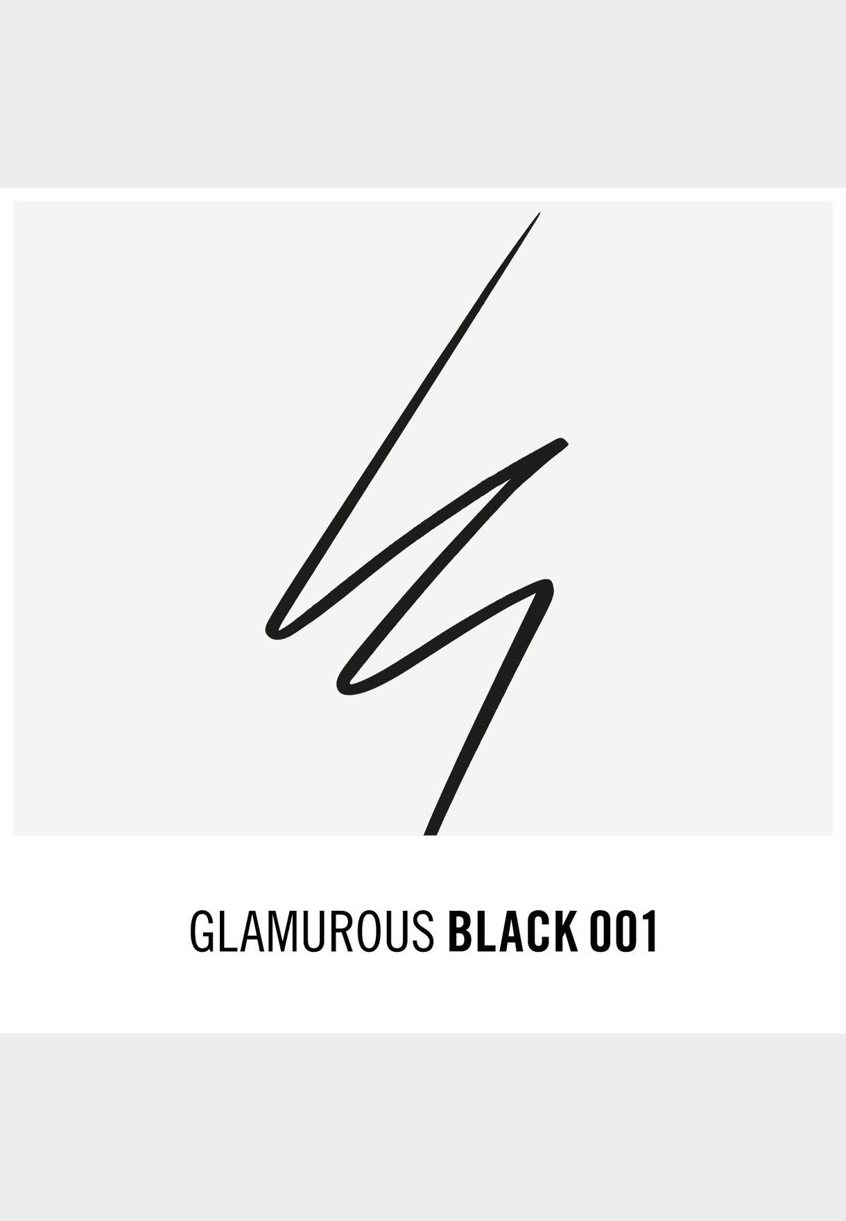 Glameyes Professional Liquid Liner- 001 Black Glamour