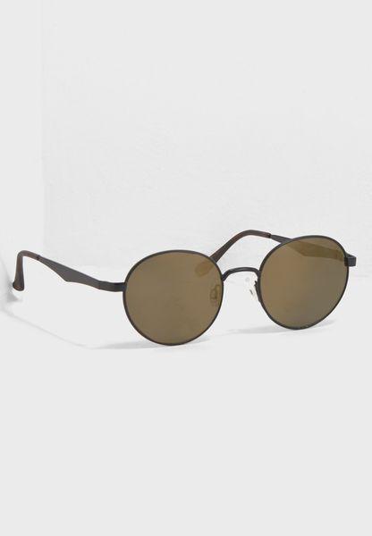 Metal Ferris Round Sunglasses