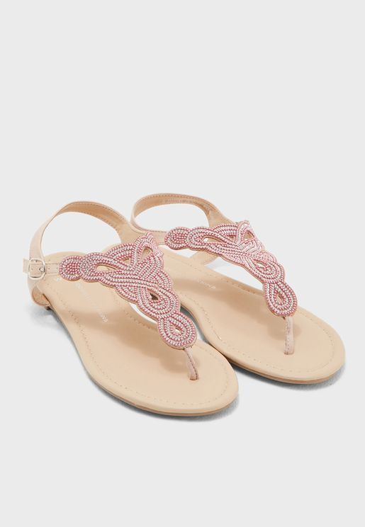 Wide Fit Fierce Sandal