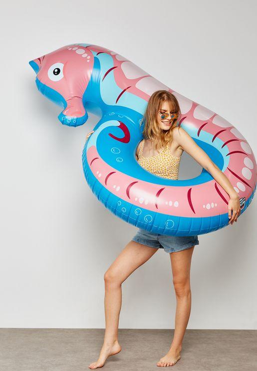Sea Horse Tube Pool Float