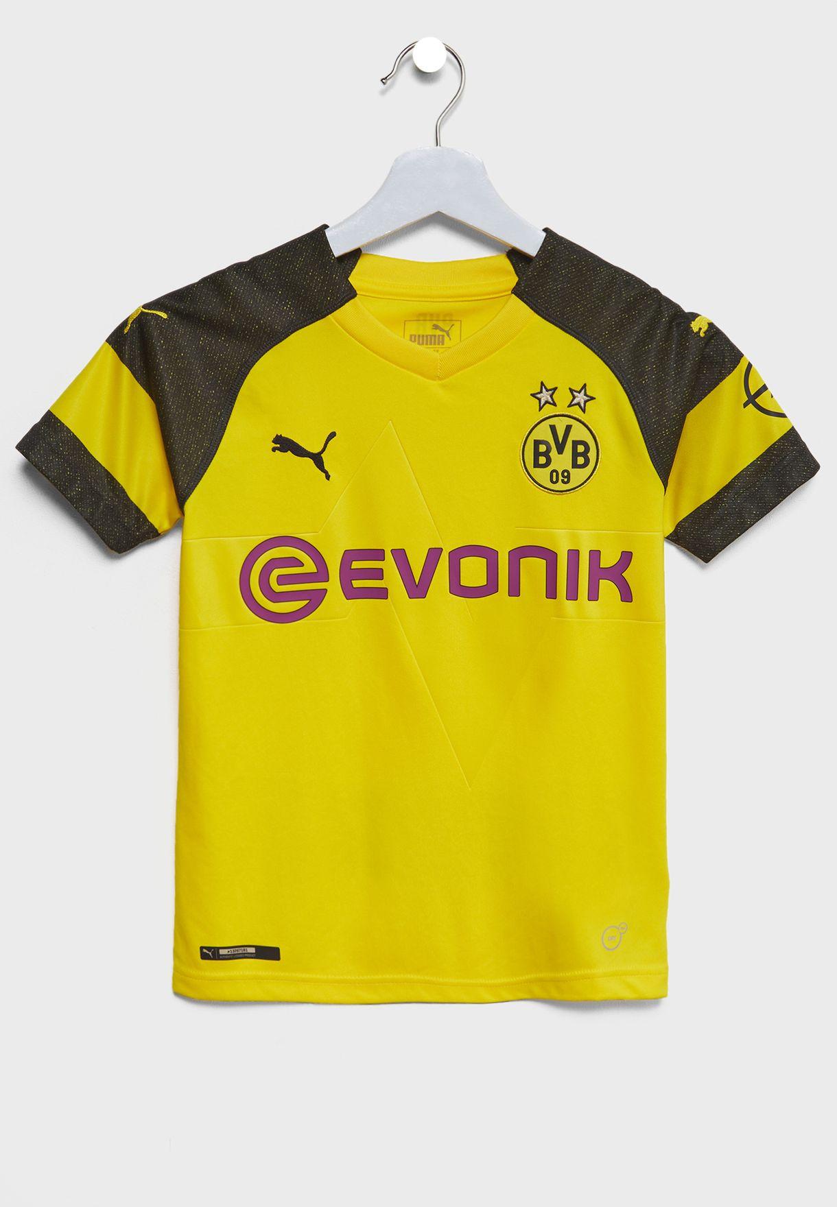 7ff6c2495 Shop PUMA yellow Youth Borussia Dortmund Replica Jersey 75331201 for ...