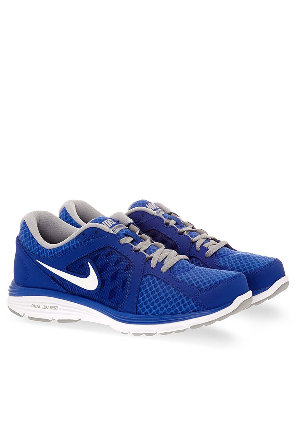 47a76b6cad51b6 Shop Nike blue Dual Fusion Run Breathe 580533-403 for Men in UAE ...