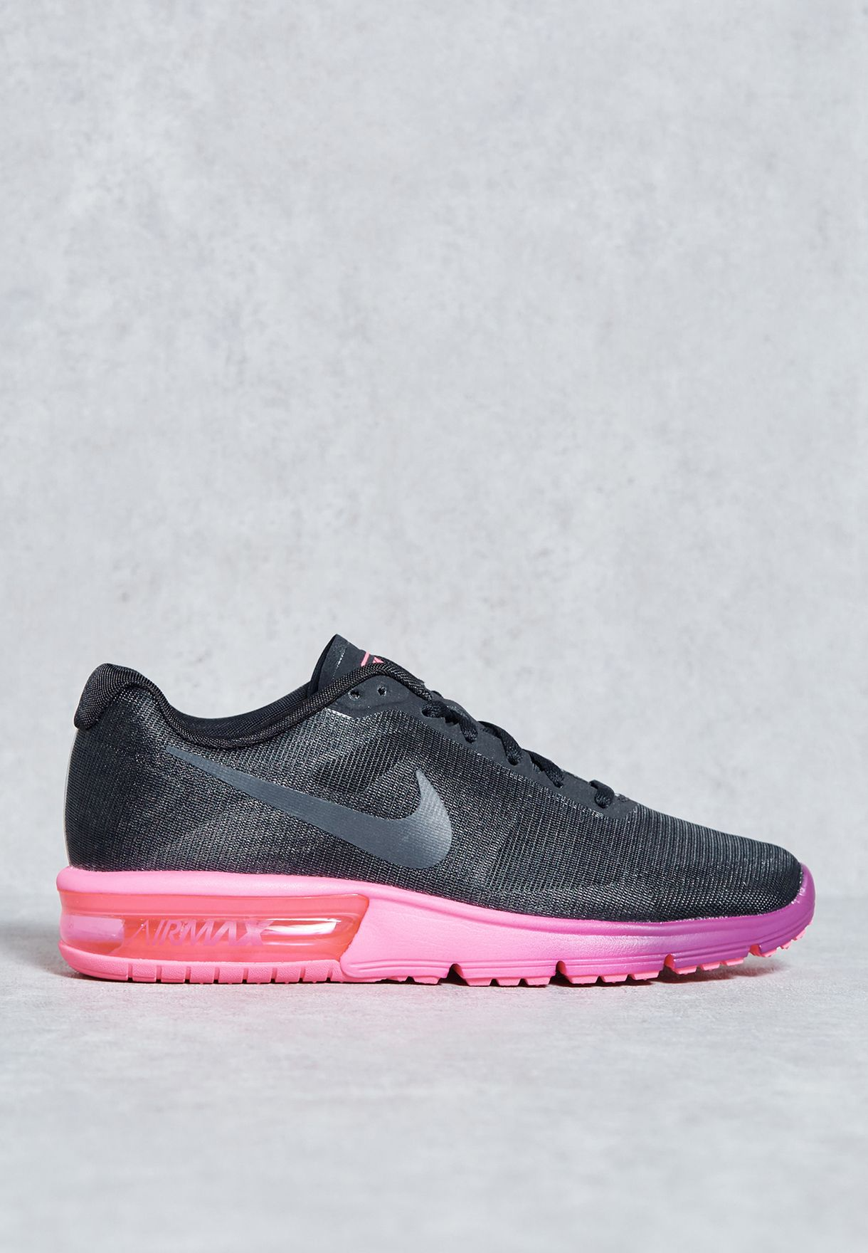 fa26abe3e9 Shop Nike black Air Max Sequent 719916-015 for Women in Qatar ...