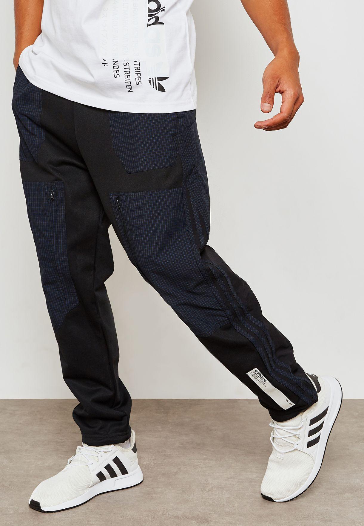 87d57bd7880cb Shop adidas Originals black NMD Sweatpants DH2269 for Men in Saudi ...