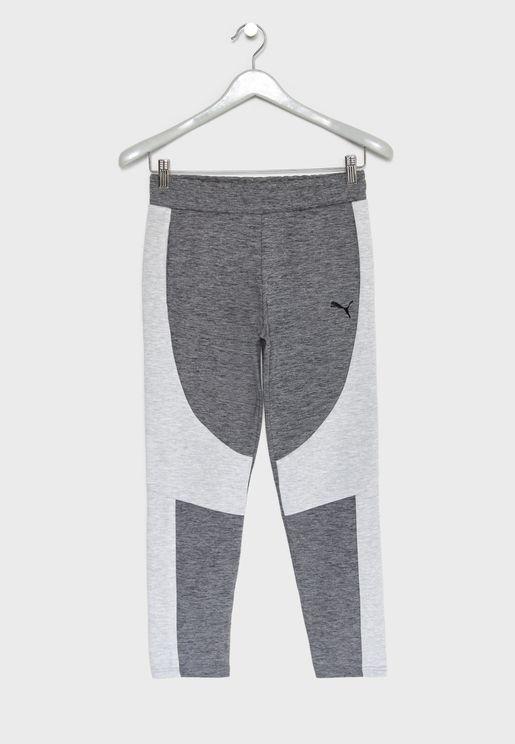 Kids evoSTRIPE Sweatpants