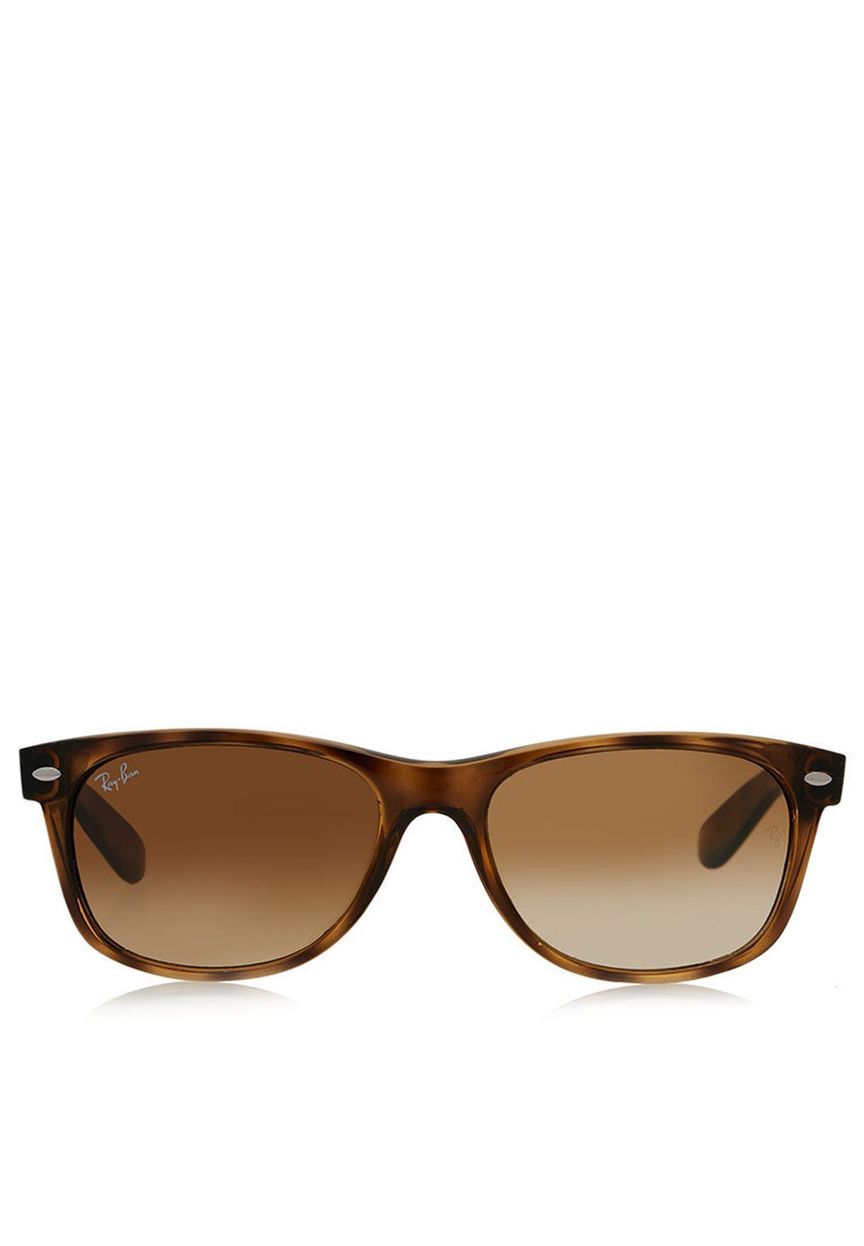 670e53352744d Shop Ray-Ban browns RB2132 Wayfarers RB2132-710 51 for Men in Kuwait ...