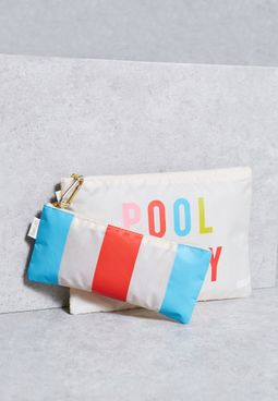 2 Pack Pool Party + National Pouch