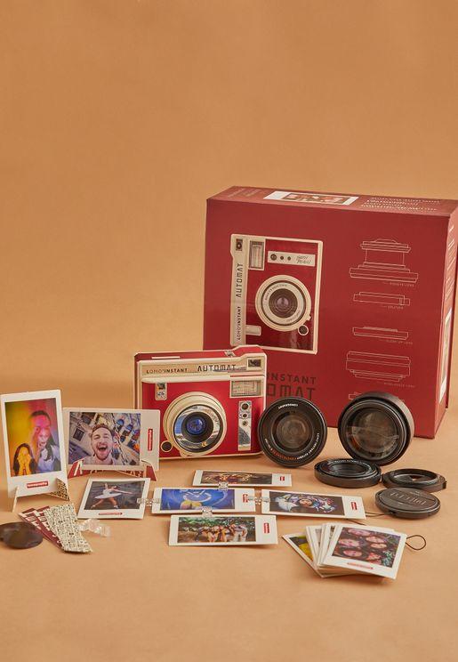 كاميرا لومو انستانت اوتومات مع عدسات