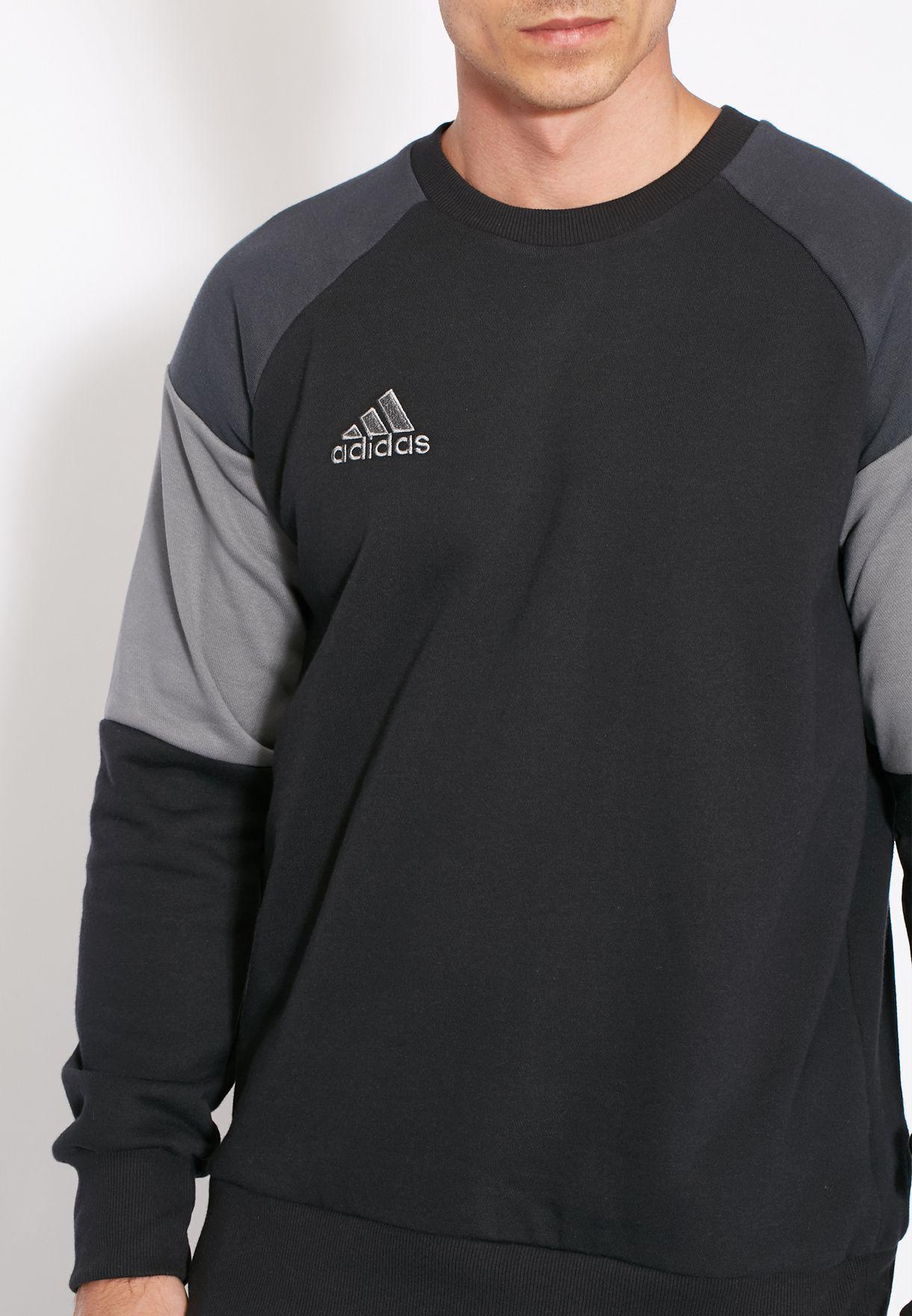 Buy Adidas Black Condivo 16 Sweatshirt For Men In Mena Worldwide An9887 [ 1760 x 1220 Pixel ]