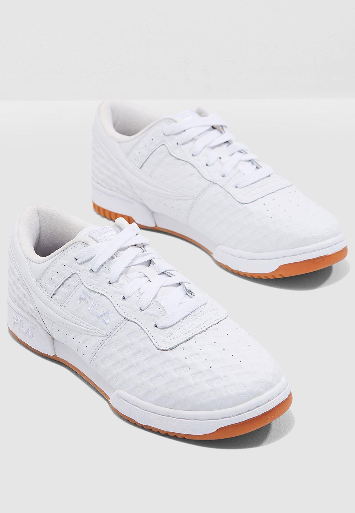 28c0545dff6f Shop Fila white Original Fitness 1FM00113-156 for Men in UAE ...