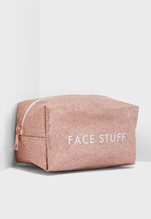 Face Stuff Make Up Cosmetic Bag