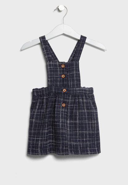 Tween Dungaree Dress