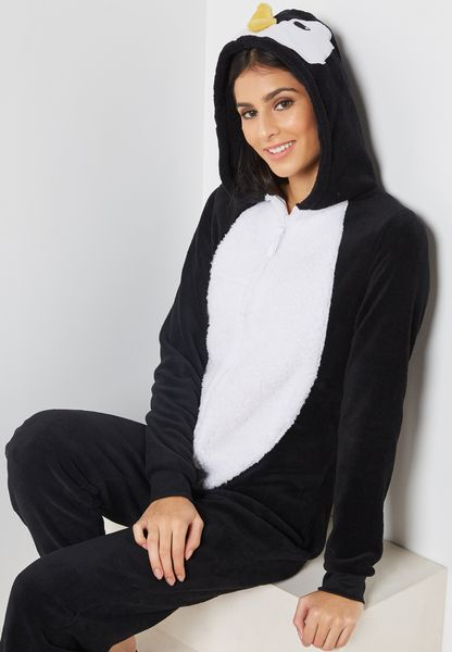 Penguin Hooded Onesie