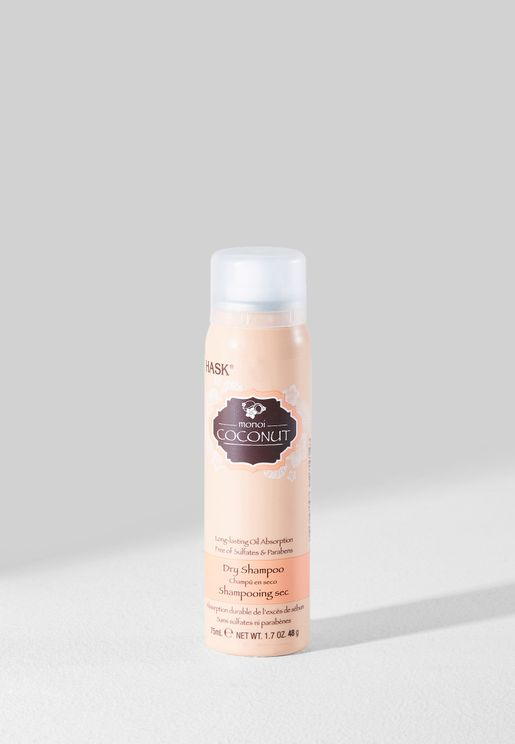 Coconut Dry Shampoo - Travel Size 75ml
