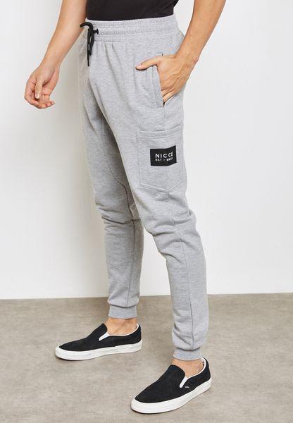 Patch Pocket Sweatpants