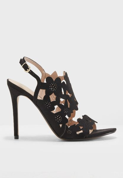 MangoDACA - High heeled sandals - black FP2XWk