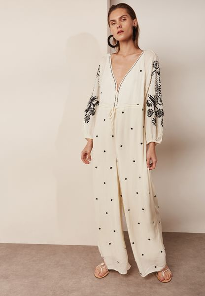 Embroidery Jumpsuit