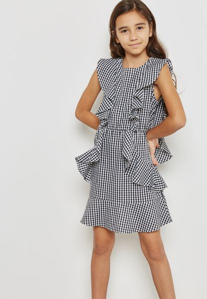 Teen Gigi Gingham Dress