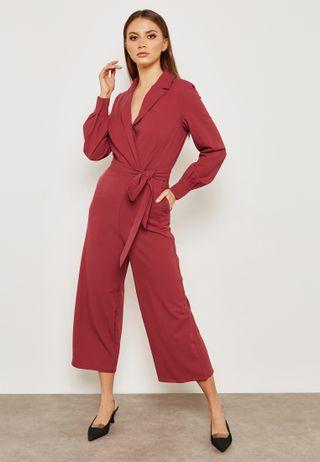 0ed24193125c Shop adidas Originals red adicolor Stage Jumpsuit CE4955 for Women ...