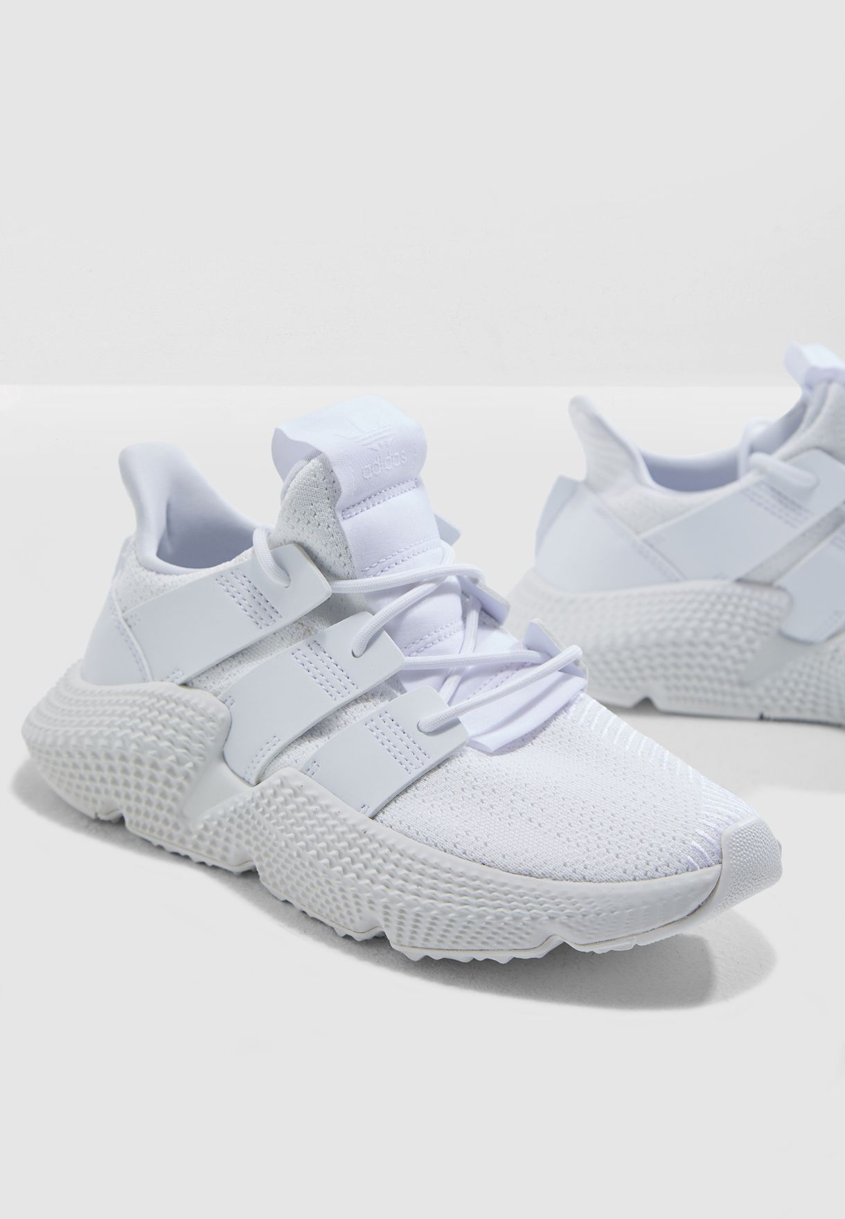 adidas Originals white Youth Prophere