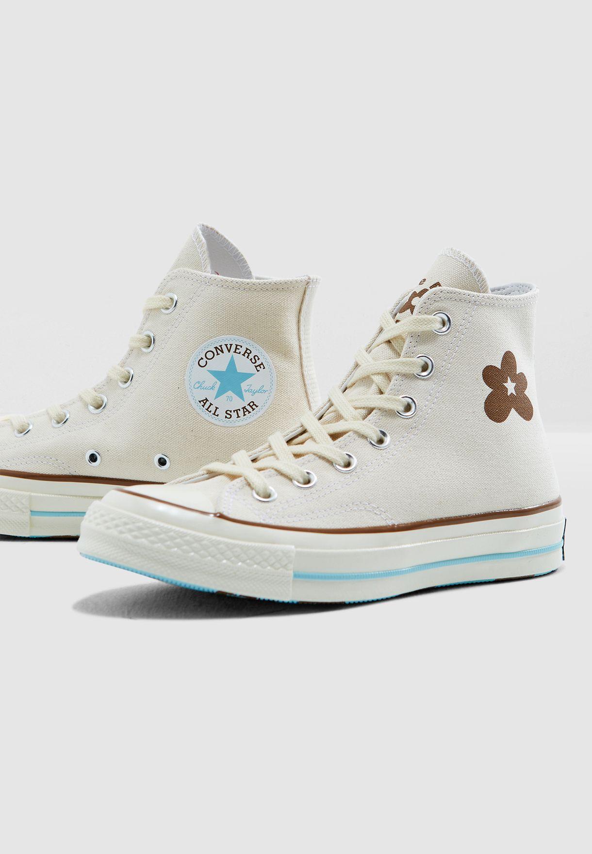 4047d69e339ae0 Shop Converse white Golf Le Fleur Chuck 70s 163170C-128 for Women in ...