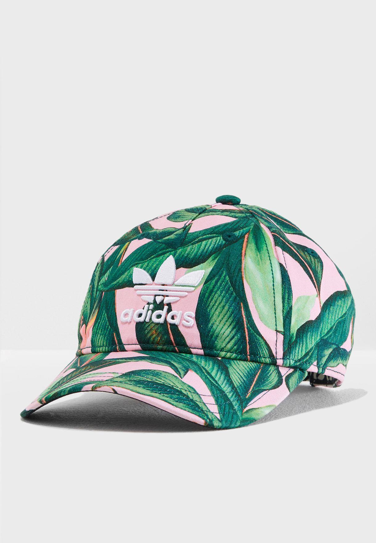 85ad9a43d7e2 Shop adidas Originals prints Farm Baseball Cap DH4399 for Women in ...
