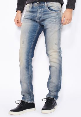 Jack & Jones Tim Slim Fit Light Wash Jeans