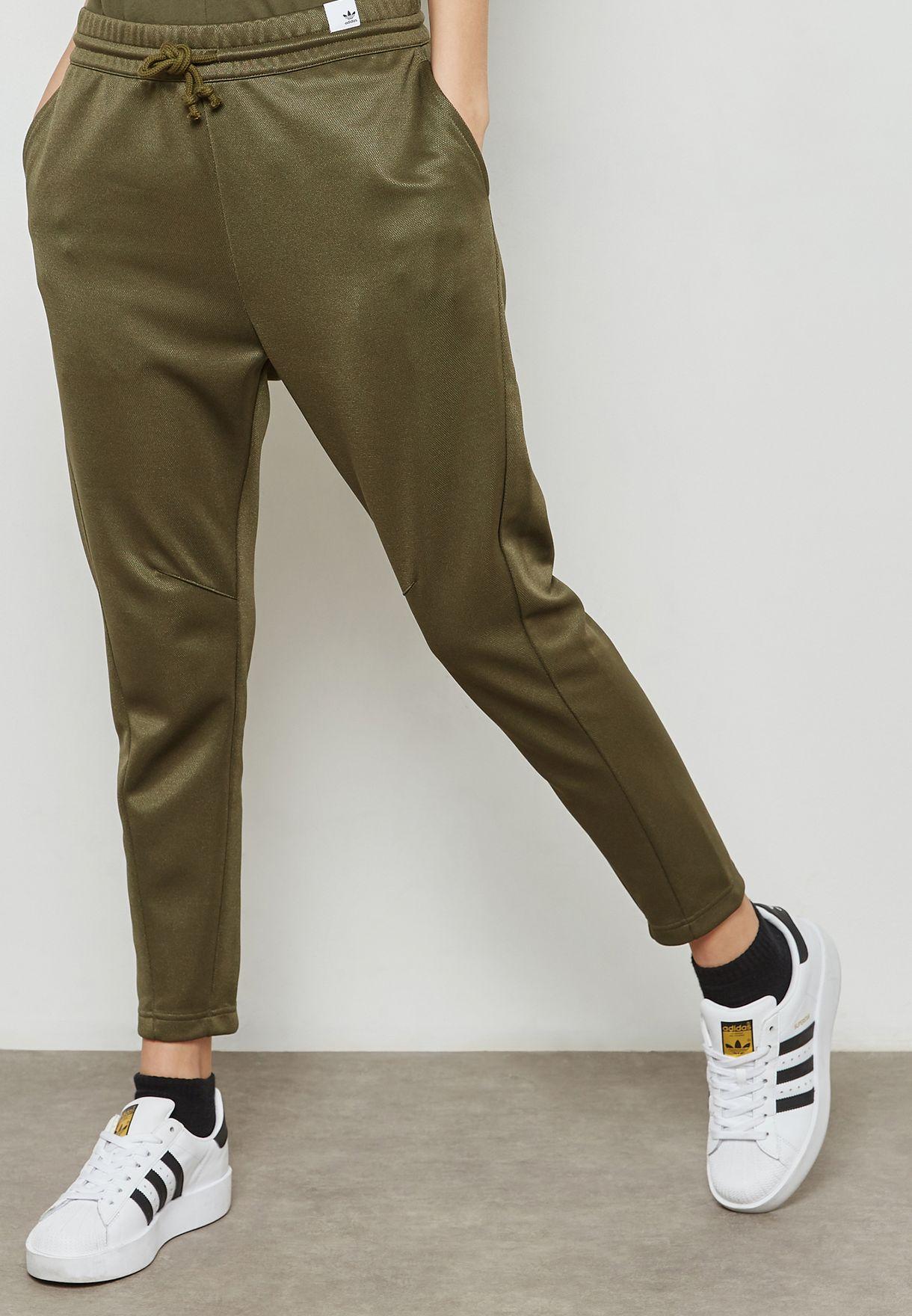 8328a9cdb6 Shop adidas Originals green XBYO Sweatpants CV8580 for Women in UAE ...