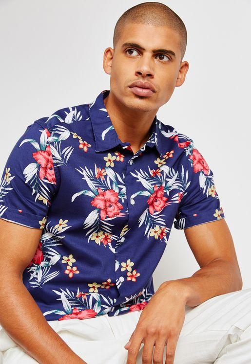 Hula Print Shirt