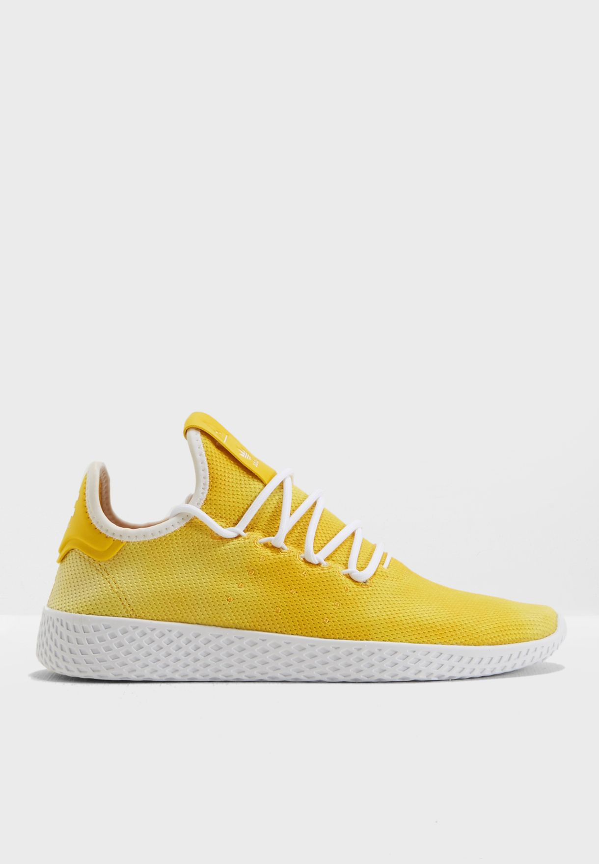 17a62514e2bf8 Shop adidas Originals yellow Pharrell Williams Hu Holi Tennis DA9617 for  Women in UAE - AD478SH74IER