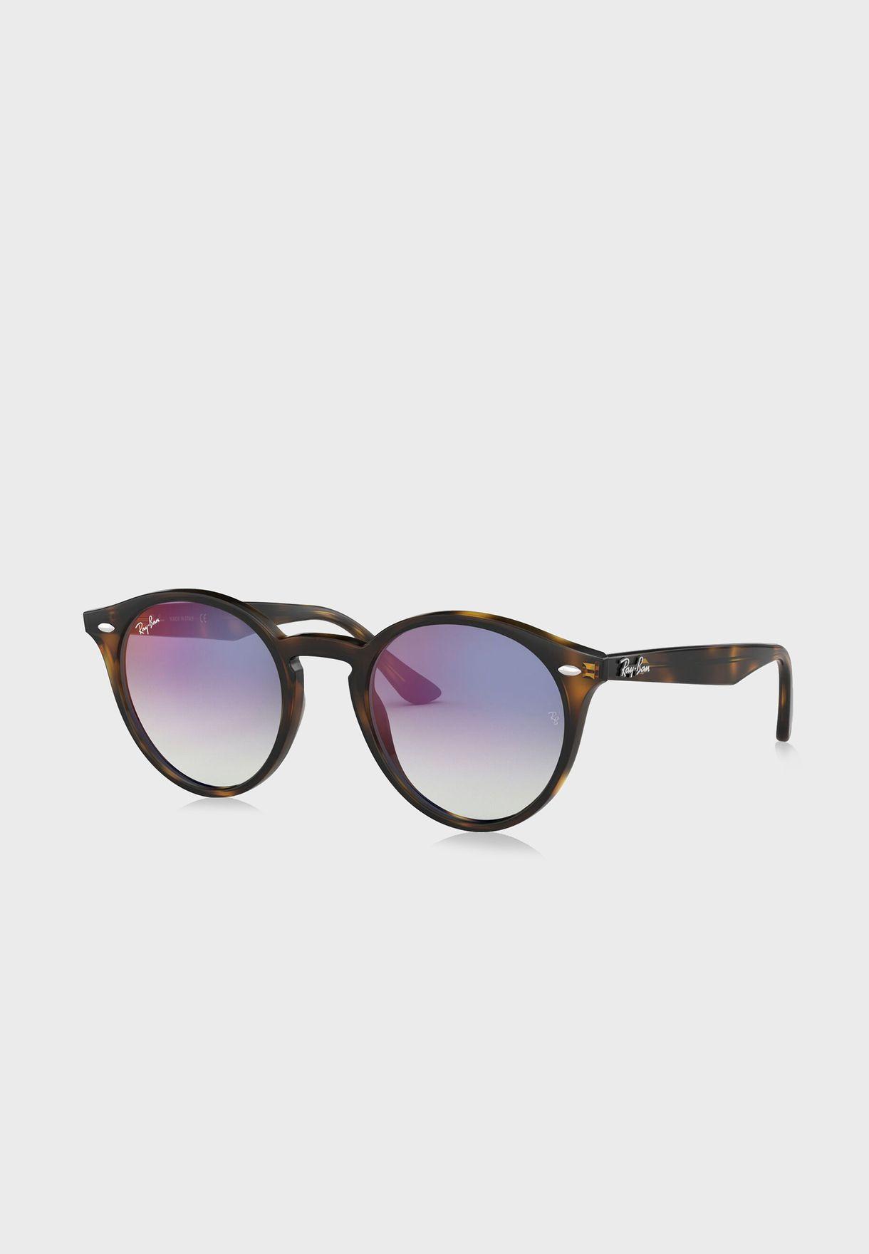 0RB2180 Round Sunglasses