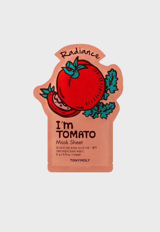 I Am Tomato Mask Sheet