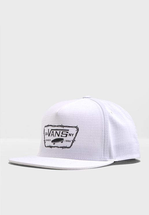 Full Patch Barbed Snapback