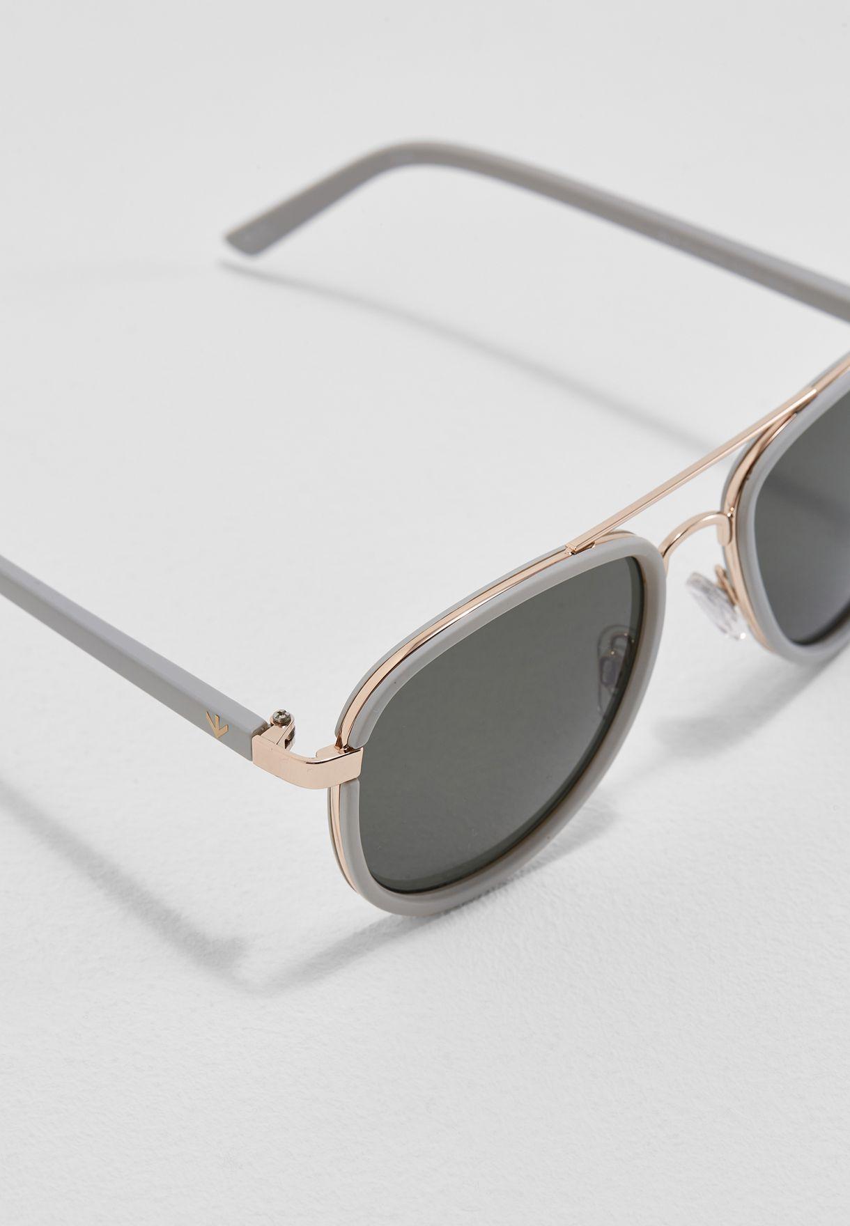 35bbd21fb تسوق نظارة شمسية فلاي ماركة توماس جيمس لوس انجلس لون أبيض Fly في ...