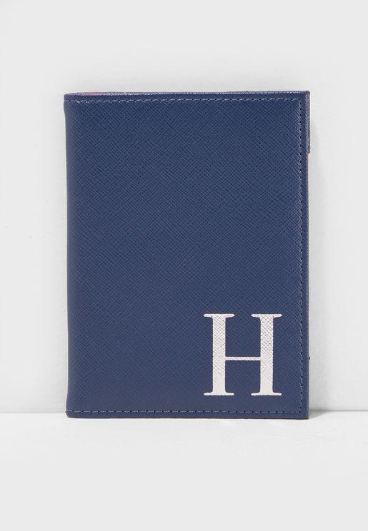 H Letter Passport Cover