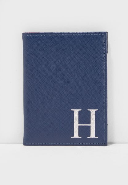 H Letter Passport Cover